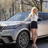 Певица Элли Голдинг рекламирует Range Rover Velar для США