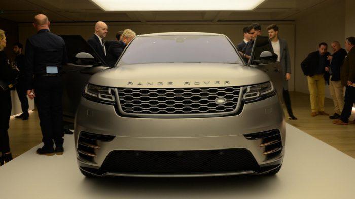 Комплектация Range Rover Velar