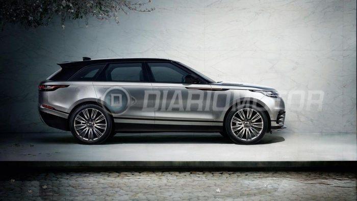 Панель Range Rover Velar рассекречена на фото
