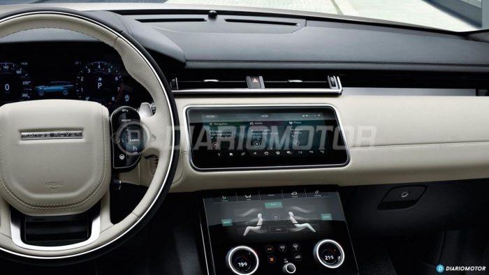 приборная панель Range Rover Velar