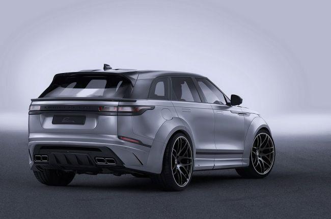 Шире не бывает, или Range Rover Velar от Lumma